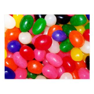 Jellybeans de la novedad postal
