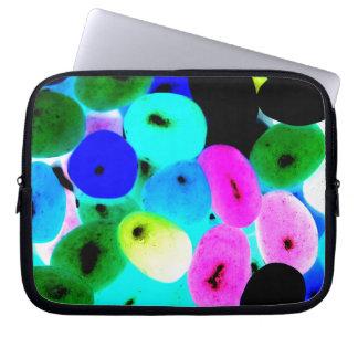 Jellybeans de neón funda computadora