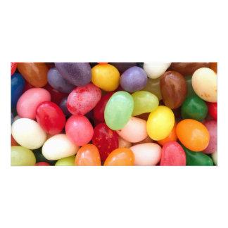 Jellybeans Easter Jellybean Background Jelly Beans Photo Card