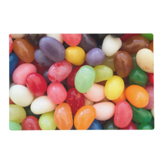 Jellybeans Easter Jellybean Background Jelly Beans Placemat
