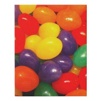 Jellybeans Faux Canvas Print