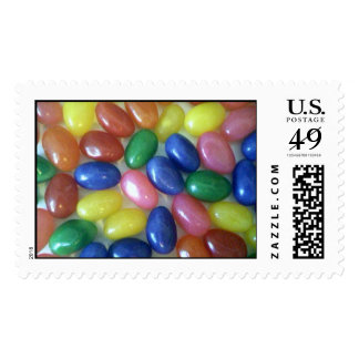jellybeans postage stamp