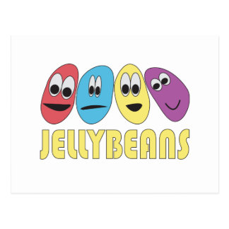 Jellybeans Postcard