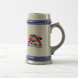 jellybeans with text 18 oz beer stein