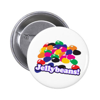 jellybeans with text 2 inch round button