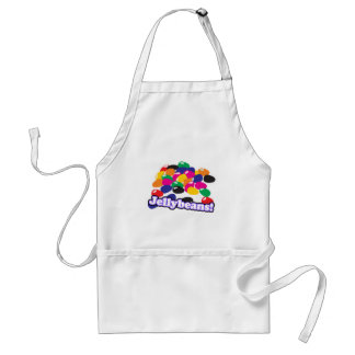 jellybeans with text adult apron