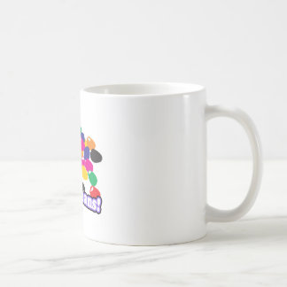 jellybeans with text classic white coffee mug