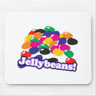 jellybeans with text mouse pad