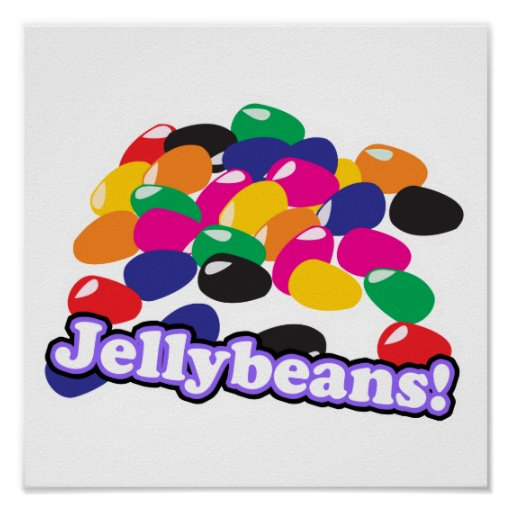 jellybeans with text print