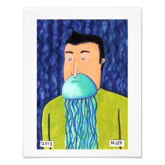 Jellybeard Photo Print