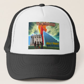 Jellybottys Jelly Priest Song Stairway To Heaven Trucker Hat