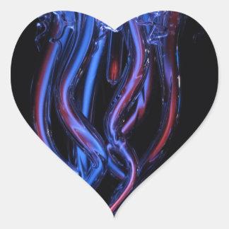 jellyfish-113384 AMAZING PHOTOGRAPHY SEALIFE jelly Heart Sticker