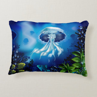 Jellyfish Accent Pillow