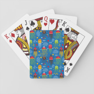 Jellyfish and Octopus Deck Of Cards