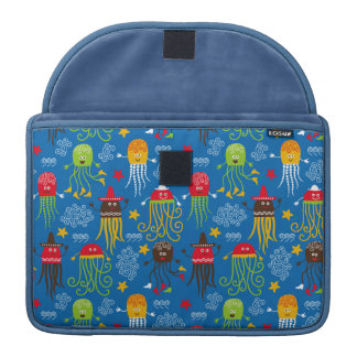 Jellyfish and Octopus MacBook Pro Sleeves
