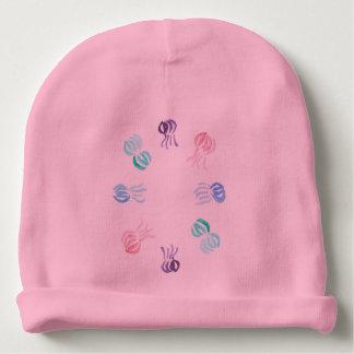 Jellyfish Baby Cotton Beanie