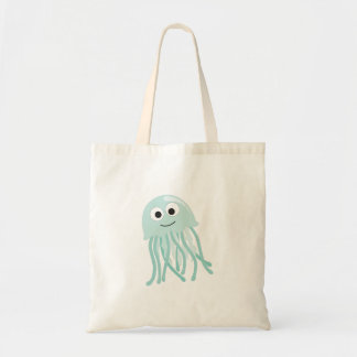 Jellyfish Canvas Bag