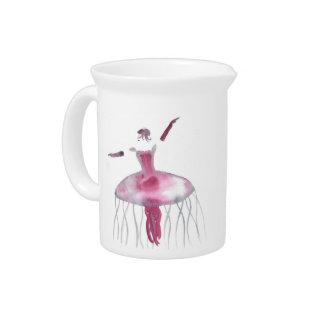 Jellyfish Ballerina - Claudette Drink Pitcher