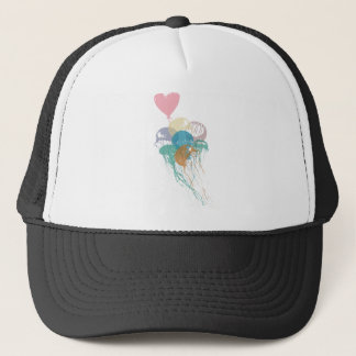 Jellyfish Balloons Trucker Hat