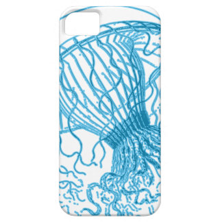 Jellyfish Blue iPhone 5 Cover