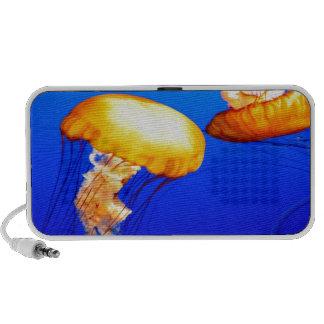 jellyfish blue marine peace and joy travel speaker
