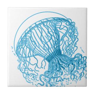 Jellyfish Blue Tile