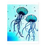 jellyfish blues postcard