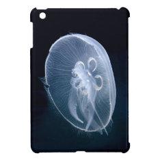 Jellyfish Bright Translucent Blue Ipad Mini Case at Zazzle