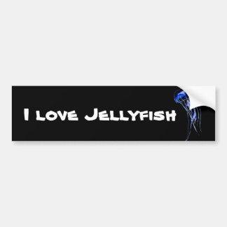 Jellyfish bumper sticker car bumper sticker