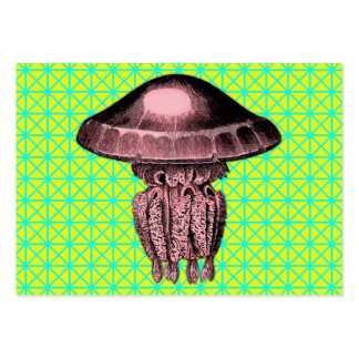 Jellyfish Pack Of Chubby Business Cards