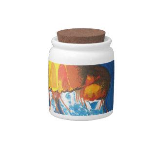 Jellyfish Candy Jars