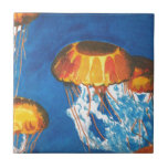 Jellyfish Ceramic Tile