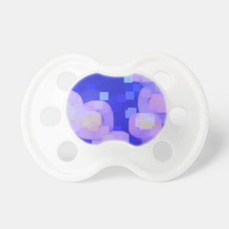 JELLYFISH COLORFUL PIXEL BABY PACIFIERS