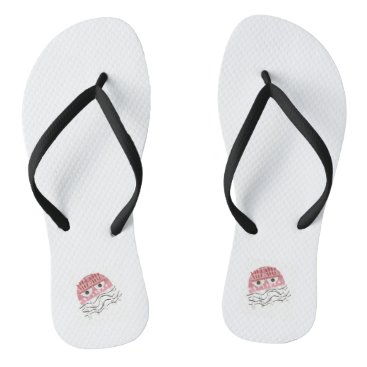 Beach Themed Jellyfish Comb Women's Sandals