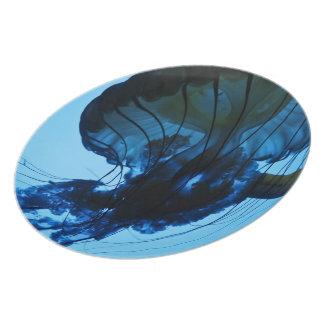 Jellyfish Dinner Plate