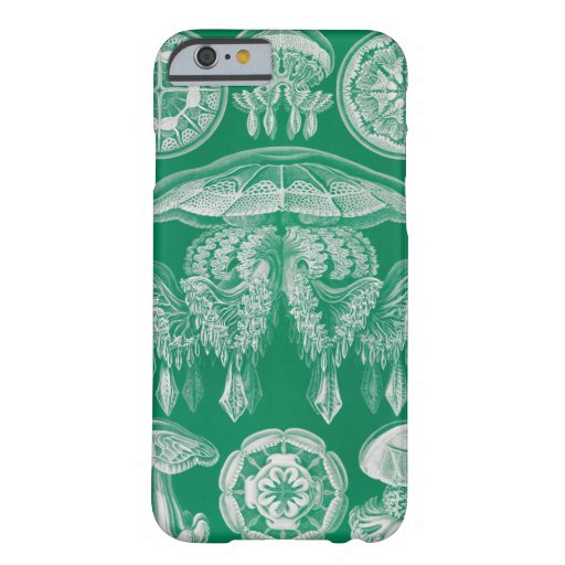 Jellyfish, Discomedusae  by Ernst Haeckel Barely There iPhone 6 Case