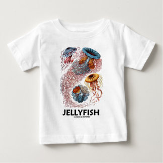Jellyfish (Ernest Haeckel's Artforms Of Nature) Infant T-shirt