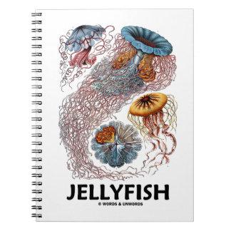 Jellyfish (Ernest Haeckel's Artforms Of Nature) Spiral Notebook