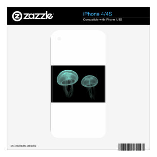 jellyfish fish custom personalize Anniversaries iPhone 4S Skin