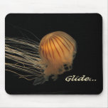 Jellyfish Glide! Mouse Pads