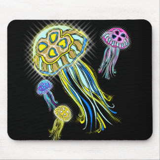 Jellyfish Group Mouse Pad