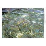 Jellyfish Happy Birthday Card