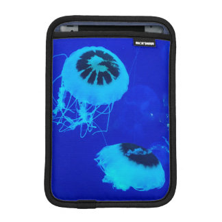 Jellyfish in Mexico (Blue) Sleeve For iPad Mini