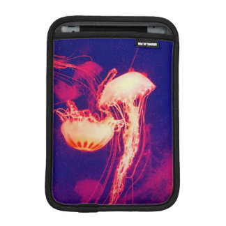 Jellyfish in Mexico (Red) Sleeve For iPad Mini