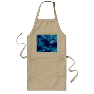 Jellyfish in the Sea Long Apron