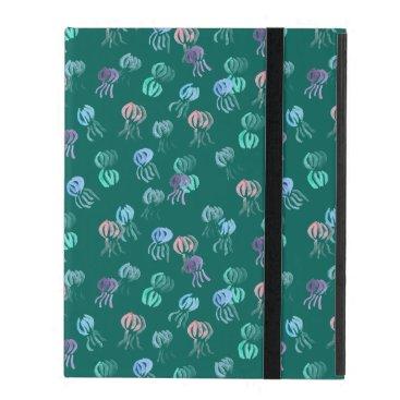 Jellyfish iPad 2/3/4 Case with No Kickstand