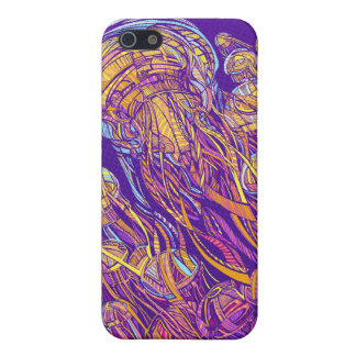 Jellyfish iPhone 4 case