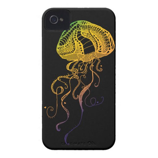 Jellyfish iPhone 4 Covers