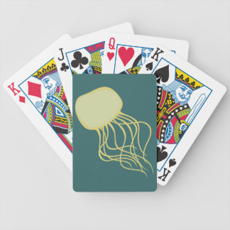 Jellyfish jellyfish bicycle playing cards