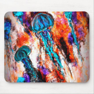 Jellyfish Jump Electric Mouse Pad